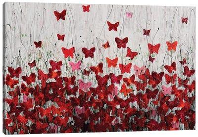 Lovely Butterfly Canvas Art Print