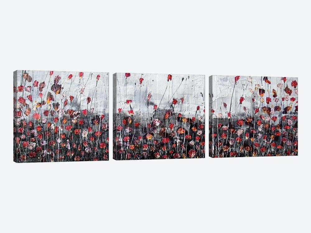 Midnight Kisses by Donatella Marraoni 3-piece Canvas Artwork