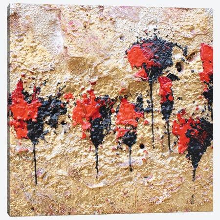 Poppies - Frammenti II Canvas Print #DOM33} by Donatella Marraoni Canvas Print