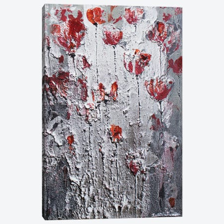 Dancing Poppies In The Night Canvas Print #DOM64} by Donatella Marraoni Canvas Art Print