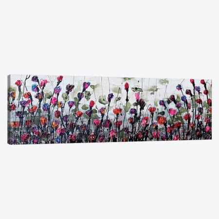 Fantatic Poppies Canvas Print #DOM7} by Donatella Marraoni Art Print