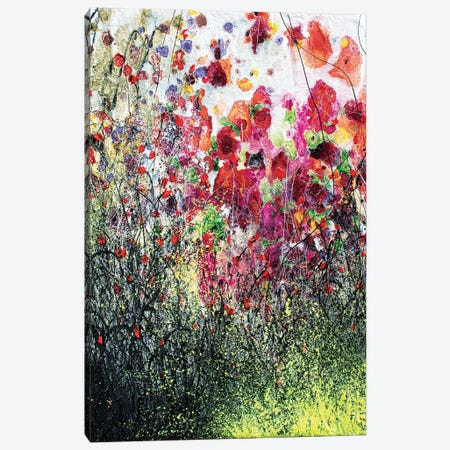 Poppies And Summer Canvas Print #DOM80} by Donatella Marraoni Canvas Artwork