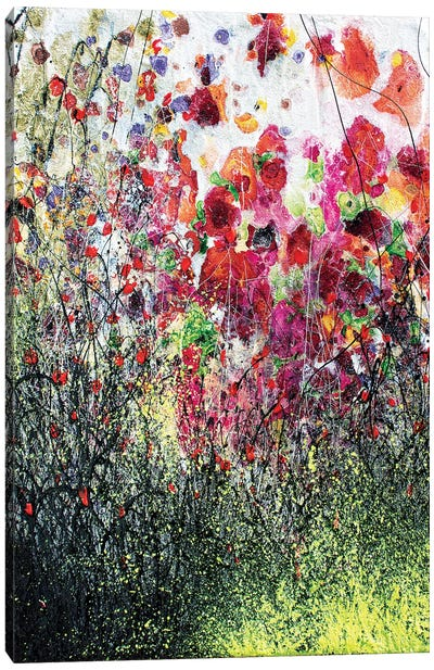 Poppies And Summer Canvas Art Print