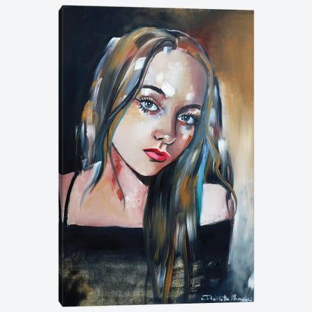 Alysia Portrait Canvas Print #DOM84} by Donatella Marraoni Canvas Print