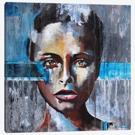 Portrait V Canvas Print #DOM89} by Donatella Marraoni Canvas Wall Art