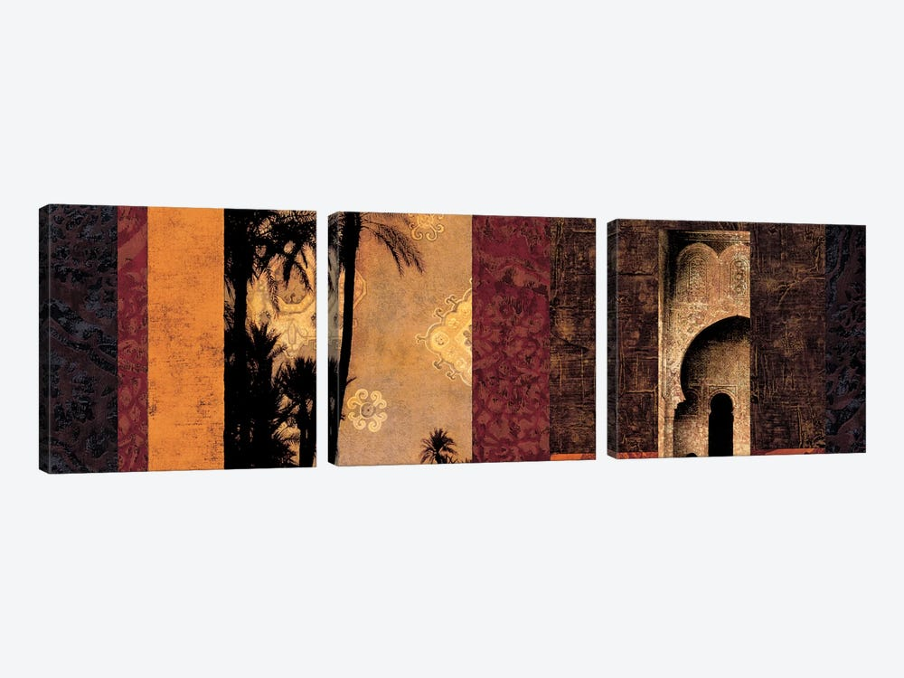 Marrakesh by Chris Donovan 3-piece Canvas Art Print