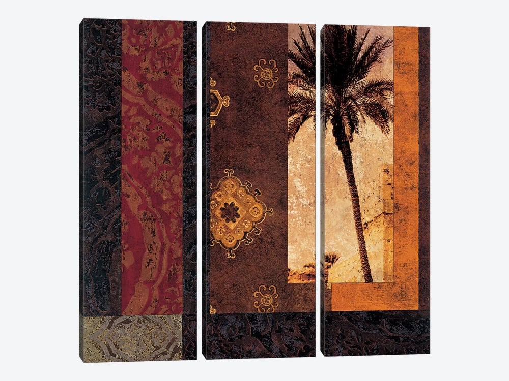 Moroccan Nights I by Chris Donovan 3-piece Canvas Artwork
