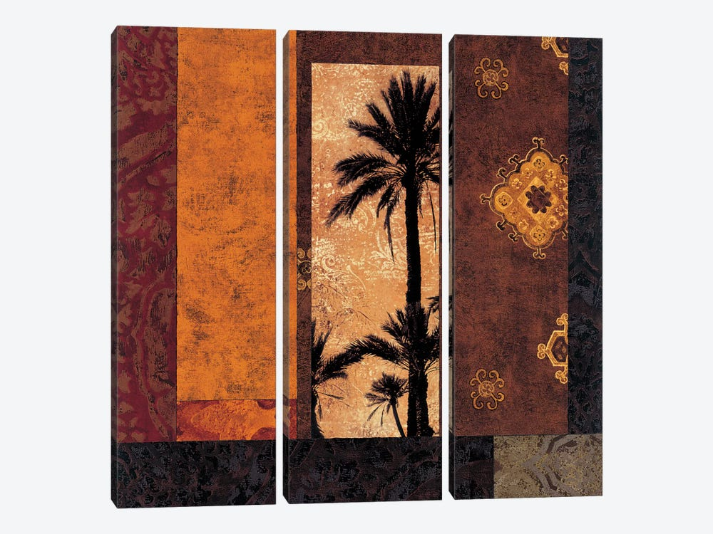 Moroccan Nights II by Chris Donovan 3-piece Canvas Wall Art