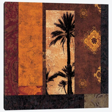 Moroccan Nights II 3-Piece Canvas #DON110} by Chris Donovan Canvas Art Print