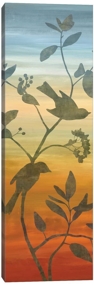 Sunset Friends I Canvas Print #DON142