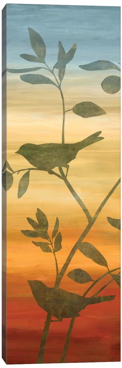 Sunset Friends II Canvas Print #DON143