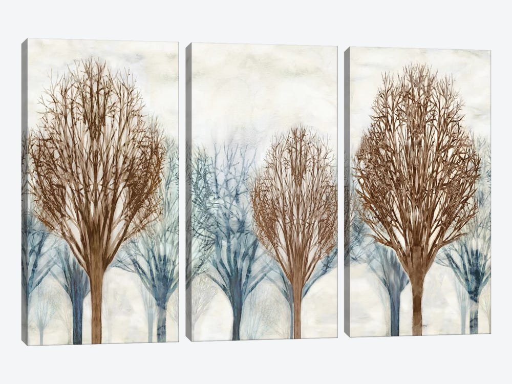 Through The Woods I by Chris Donovan 3-piece Art Print
