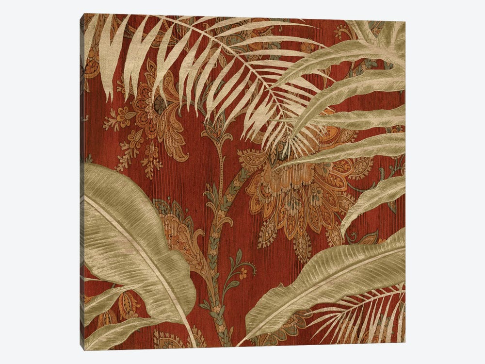 Tropical Garden I 1-piece Canvas Art