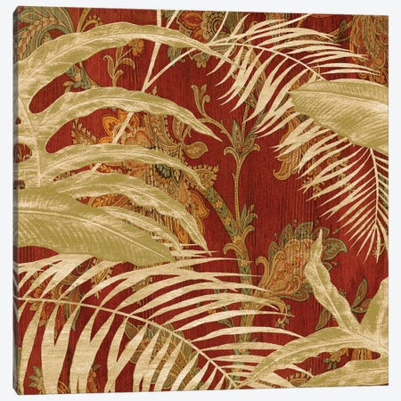 Tropical Garden II Canvas Print #DON168} by Chris Donovan Canvas Wall Art