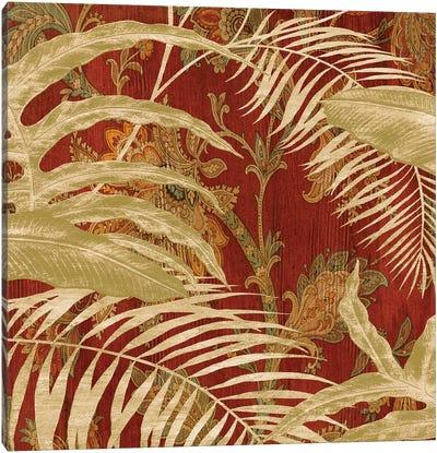 Tropical Garden II Canvas Print #DON168