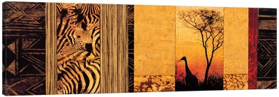 African Plains Canvas Art Print