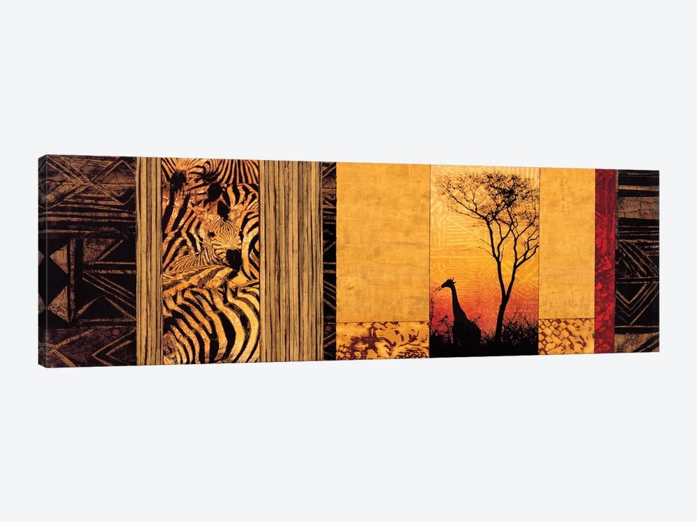 African Plains by Chris Donovan 1-piece Canvas Wall Art
