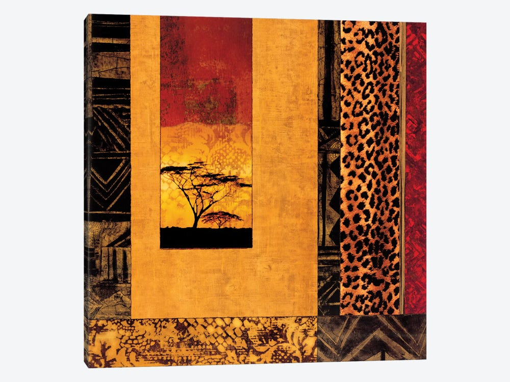 African Studies I by Chris Donovan 1-piece Canvas Art Print