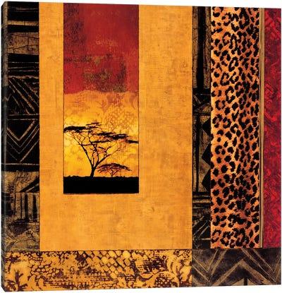 African Studies I Canvas Art Print