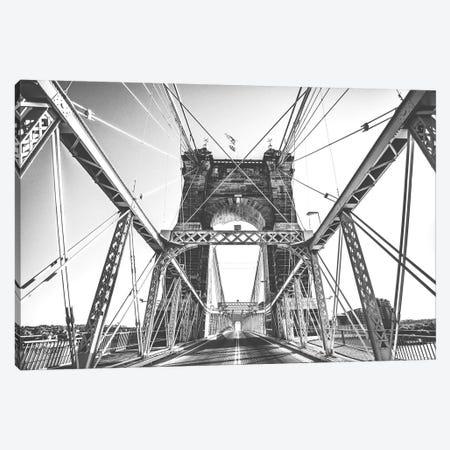 Gray Matter 3-Piece Canvas #DOQ1} by Donnie Quillen Canvas Print