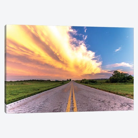 Road Less Traveled Canvas Print #DOQ20} by Donnie Quillen Canvas Artwork