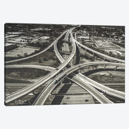 Highway Crossing Canvas Print #DOQ2} by Donnie Quillen Canvas Print