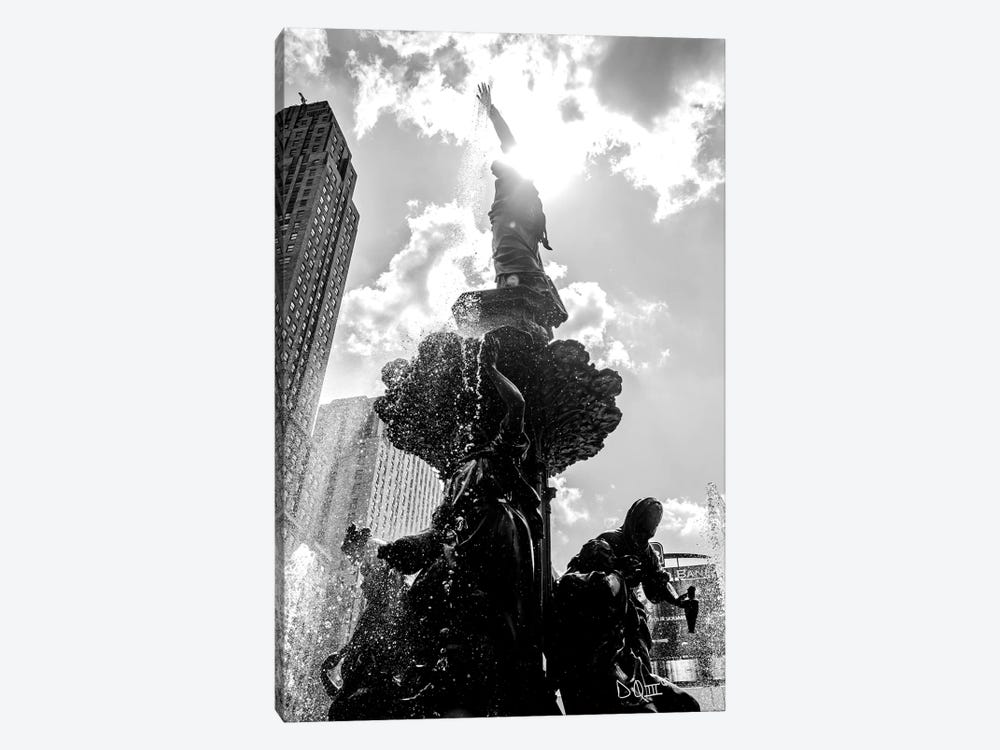 Built From The Ground Up III by Donnie Quillen 1-piece Canvas Art Print