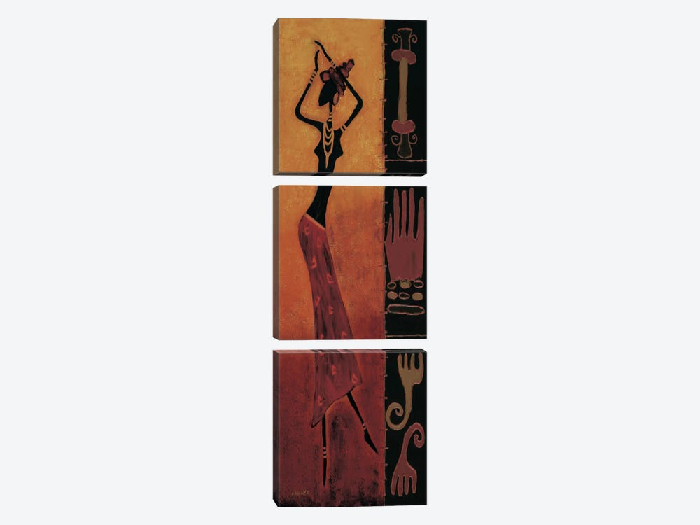 Time to Dance I 3-piece Canvas Art