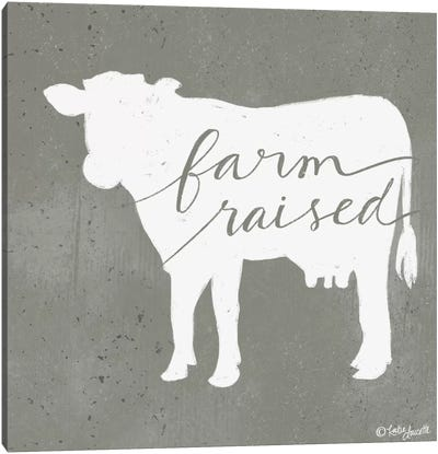 Farm Raised Canvas Art Print