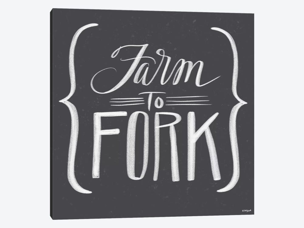 Farm To Fork by Katie Doucette 1-piece Canvas Art Print