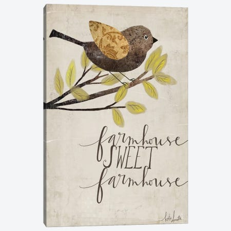 Farmhouse Sweet Farmhouse Canvas Print #DOU13} by Katie Doucette Art Print