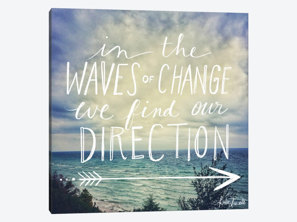 Find Our Direction by Katie Doucette 1-piece Canvas Wall Art