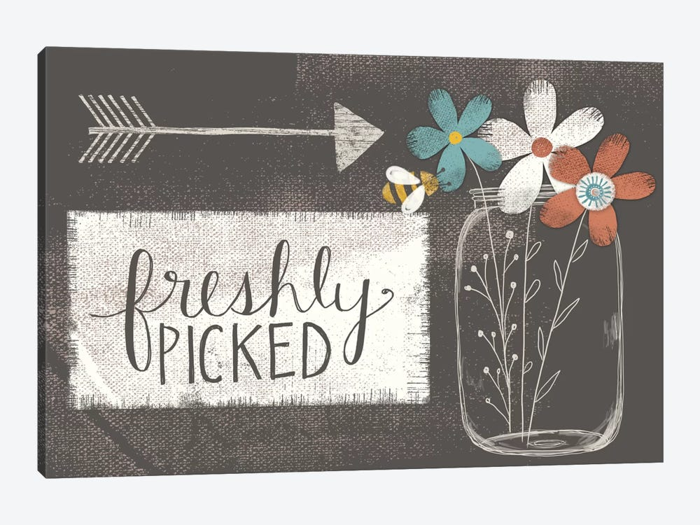 Freshly Picked by Katie Doucette 1-piece Canvas Print