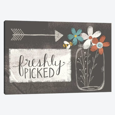 Freshly Picked Canvas Print #DOU15} by Katie Doucette Canvas Artwork