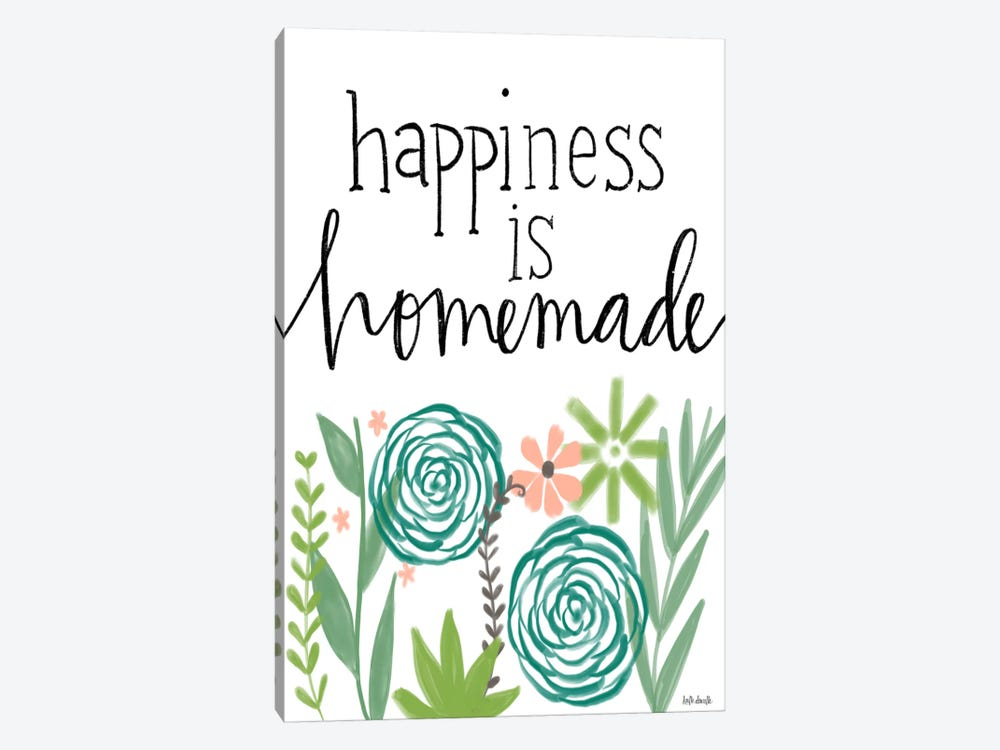 Happiness Is Homemade by Katie Doucette 1-piece Canvas Art Print