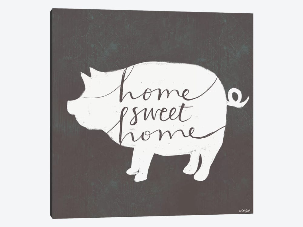 Home Sweet Home by Katie Doucette 1-piece Canvas Wall Art