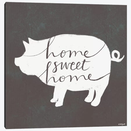 Home Sweet Home Canvas Print #DOU18} by Katie Doucette Canvas Art Print