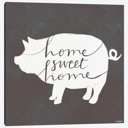 Home Sweet Home Canvas Print #DOU18} by Katie Doucette Canvas Art Print