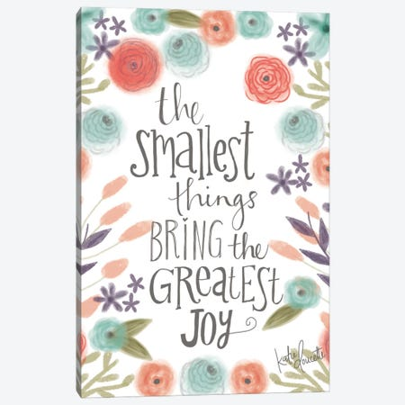 Smallest Things Canvas Print #DOU26} by Katie Doucette Canvas Art Print