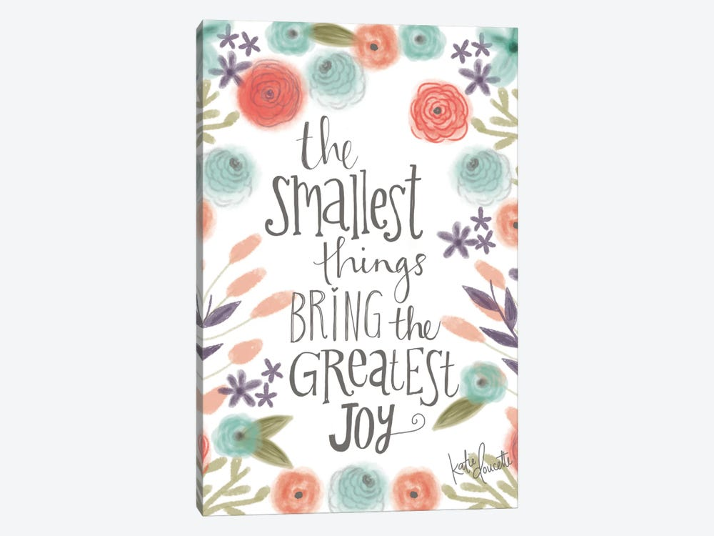 Smallest Things by Katie Doucette 1-piece Canvas Print