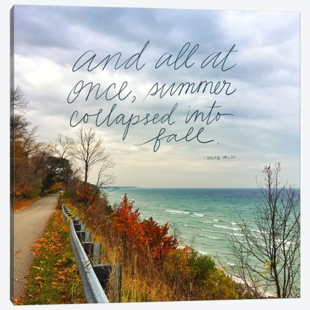 Summer Into Fall Canvas Print #DOU27} by Katie Doucette Canvas Art Print