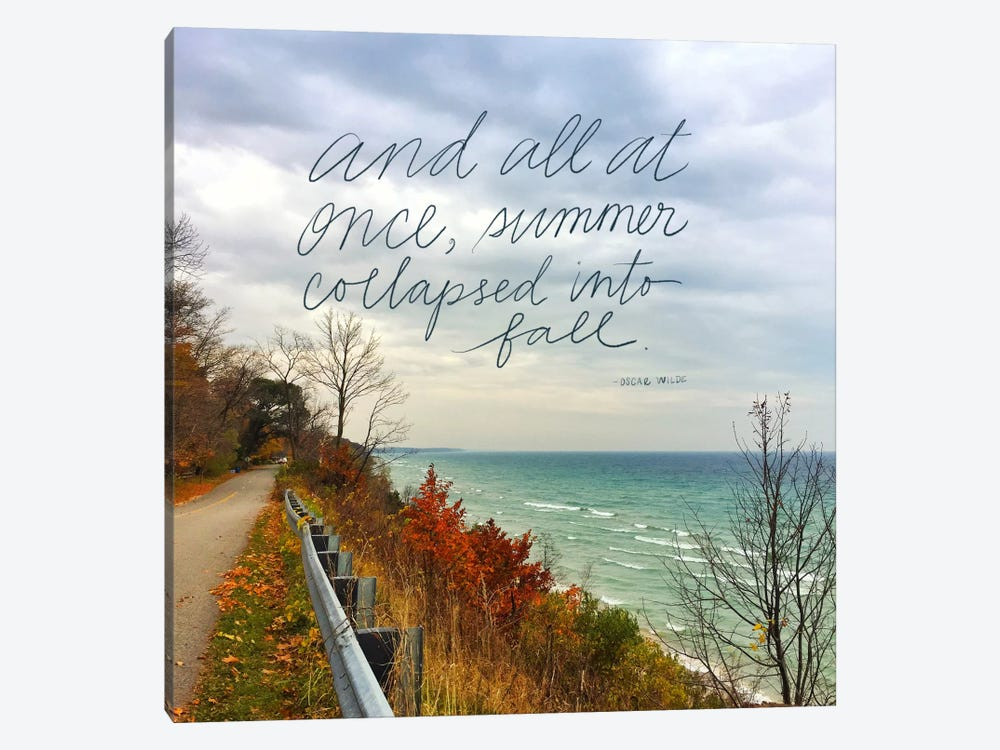 Summer Into Fall by Katie Doucette 1-piece Canvas Wall Art