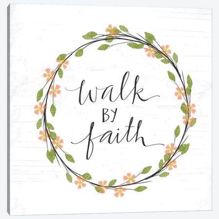 Walk By Faith Canvas Print #DOU29} by Katie Doucette Canvas Art