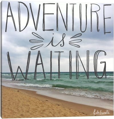 Beach Adventure Canvas Art Print