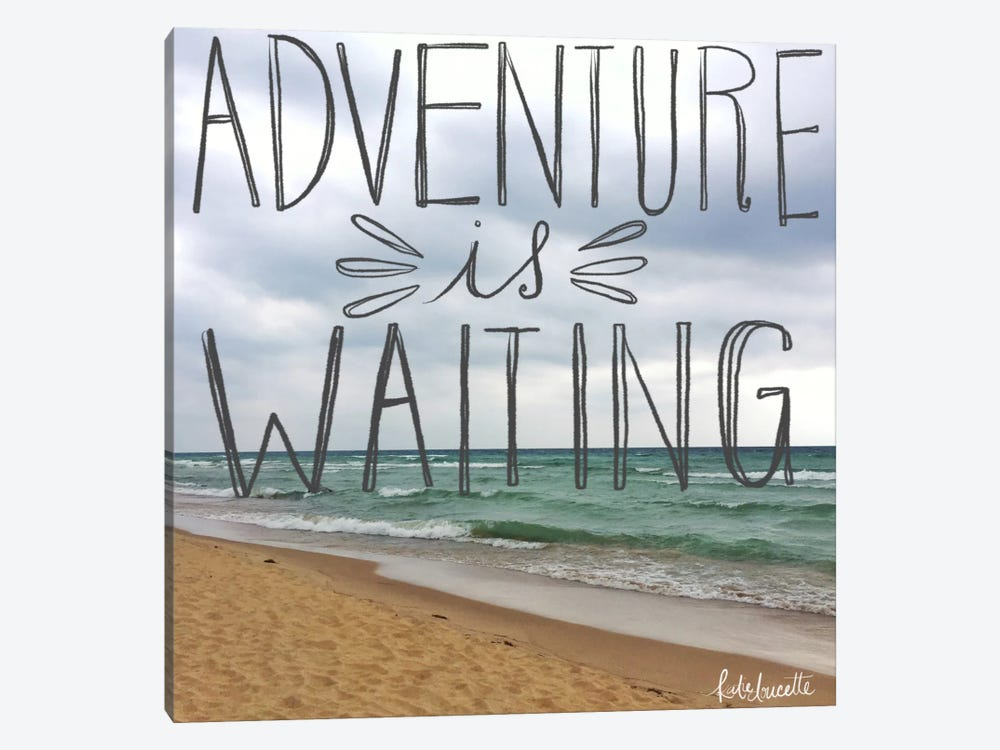 Beach Adventure by Katie Doucette 1-piece Canvas Art