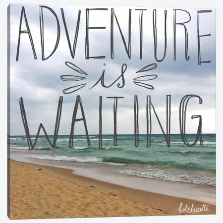 Beach Adventure Canvas Print #DOU2} by Katie Doucette Art Print
