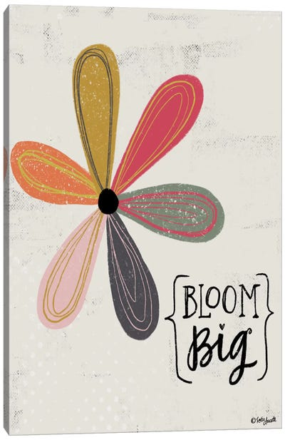 Bloom Big Canvas Art Print
