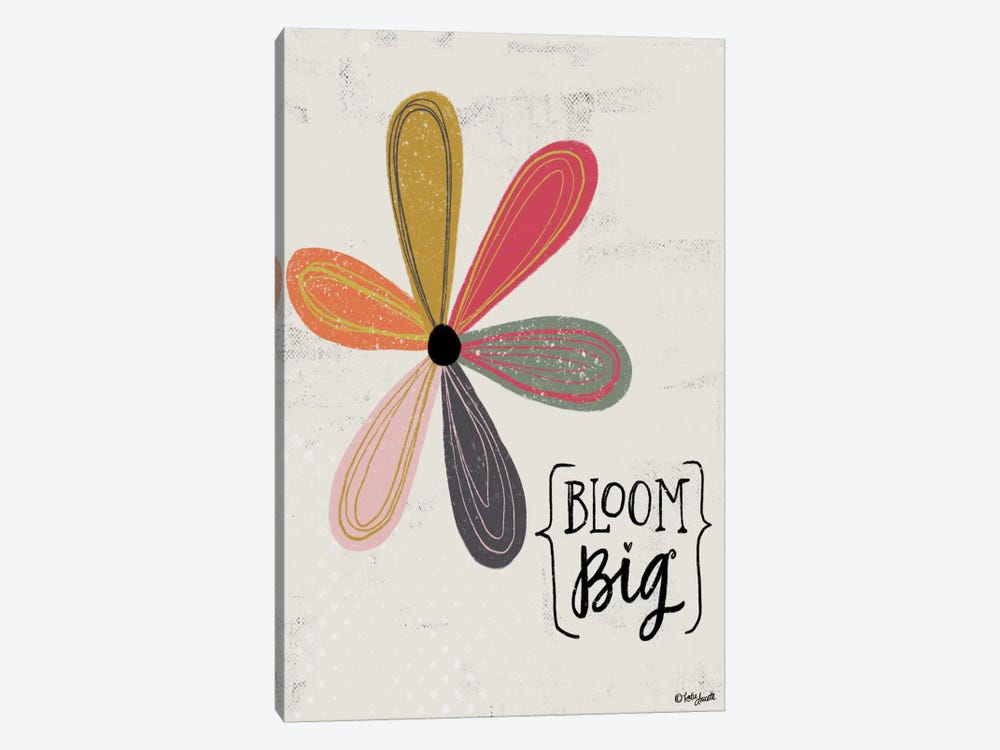 Bloom Big by Katie Doucette 1-piece Canvas Art