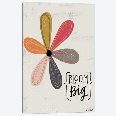 Bloom Big Canvas Print #DOU4} by Katie Doucette Canvas Artwork