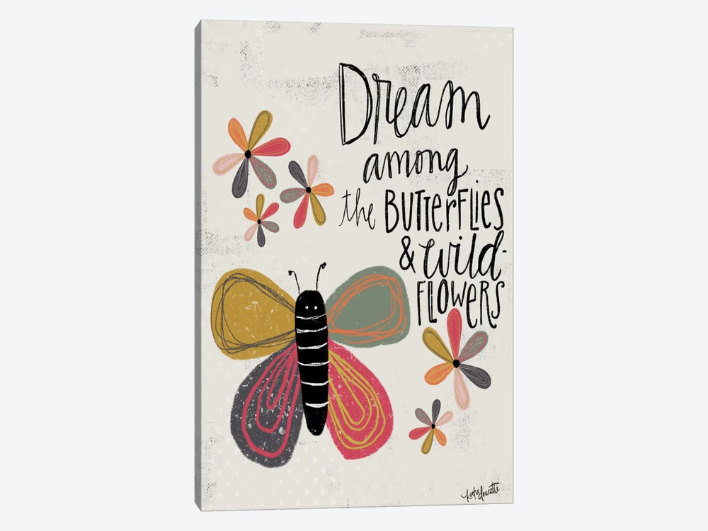 Dream Among The Butterflies by Katie Doucette 1-piece Art Print